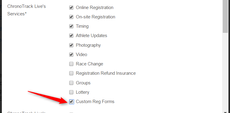 How to use custom registration forms chronotrack event director for best results once youve enabled custom reg forms please configure the following before proceeding thecheapjerseys Gallery