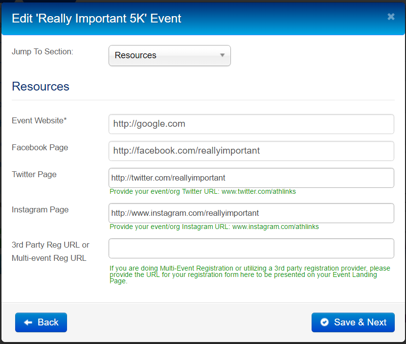 How to Configure and Publish Event Landing Pages